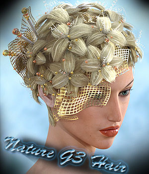 Nature G3 Hair 3D Figure Assets Sshodan