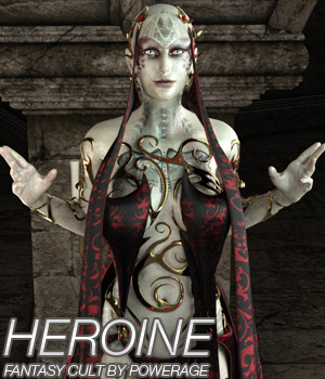 HEROINE for Fantasy Cult 3D Figure Essentials Anagord