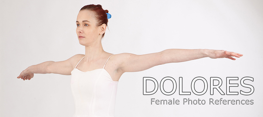 Dolores: Nude Female Full Figure Photo References