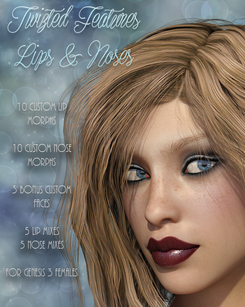 Twizted Features Lips & Noses