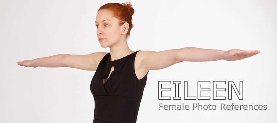 Eileen: Nude Female Full Figure Photo References