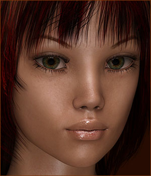 TDT-Delfina for Genesis 3 Female 3D Figure Assets Deva3D
