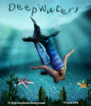 Deep Waters 2D Graphics ornylia