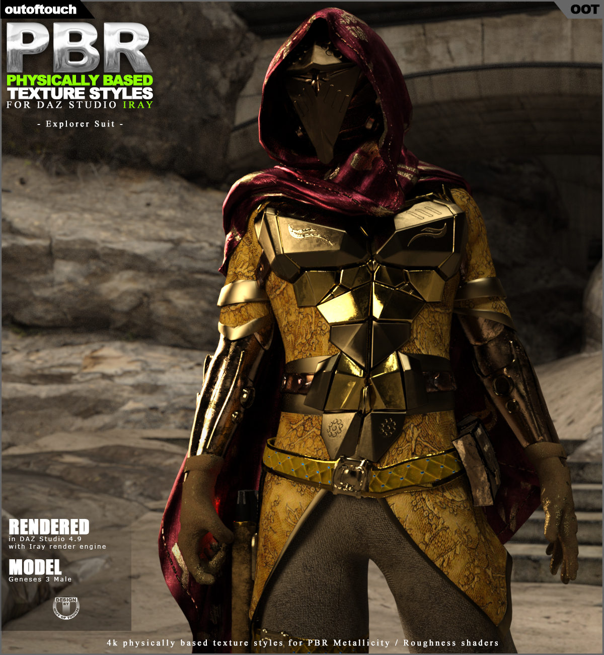 OOT PBR Texture Styles for Explorer Suit