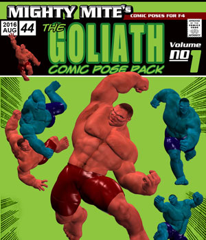 The Goliath v01 : By MightyMite for F4 3D Figure Assets MightyMite