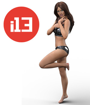 i13 Movement of Grace Pose Collection 3D Figure Essentials ironman13
