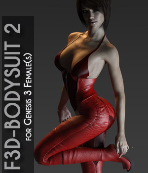F3D-Bodysuit2 for G3F 3D Figure Assets Fashionista3D