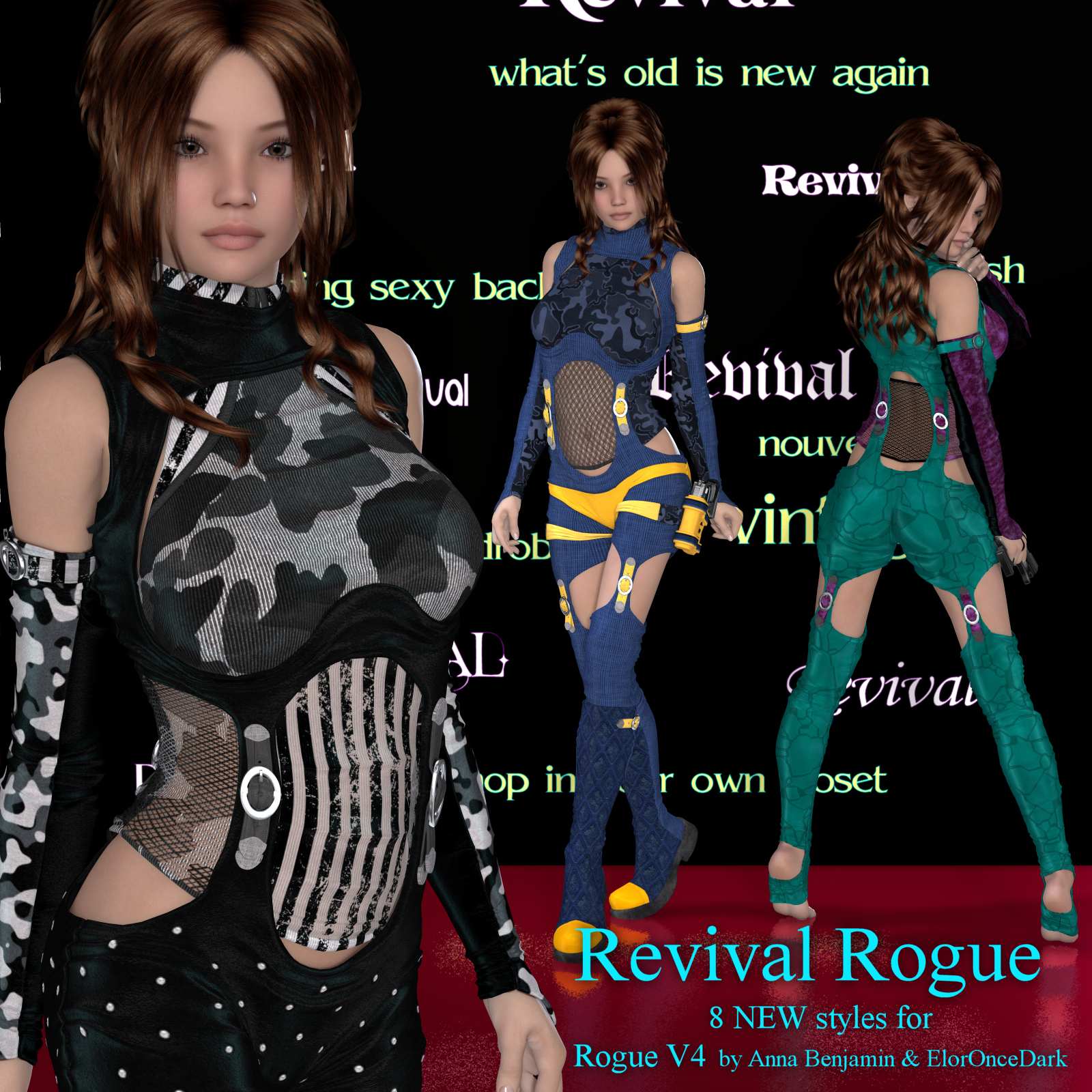 Revival for Rogue V4 by DivabugDesigns