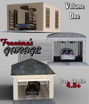 Freeone's Garage Volume 1 3D Models freeone1