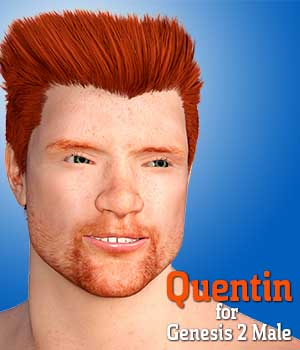 Quentin for Genesis 2 Male 3D Figure Essentials Dave