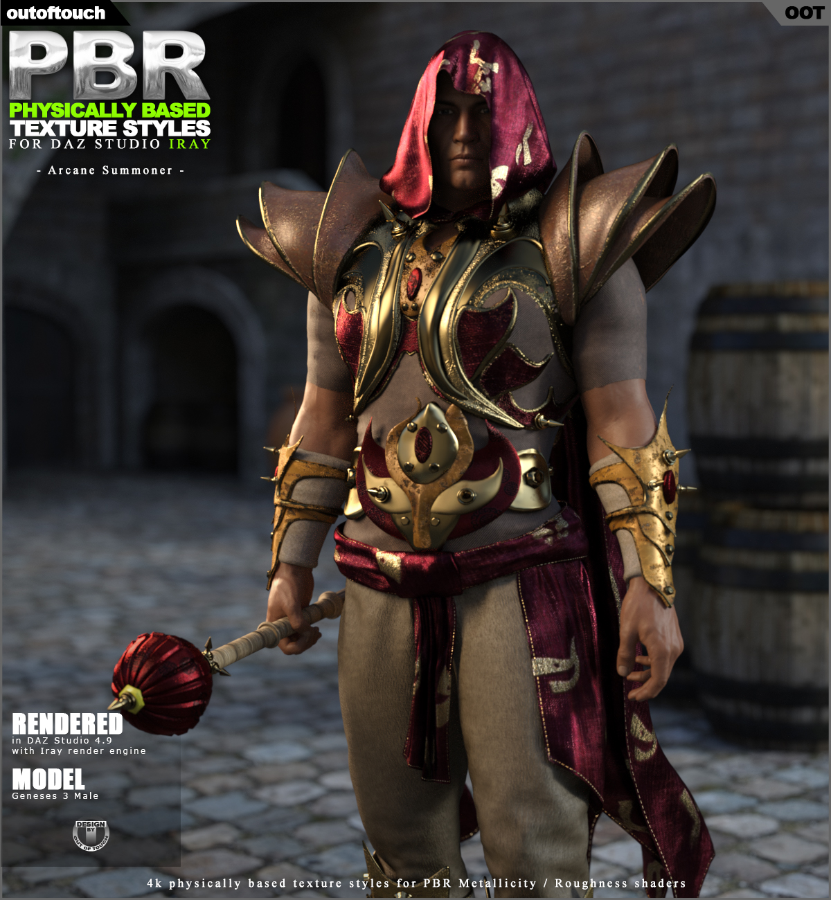 OOT PBR Texture Styles for Arcane Summoner