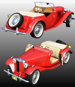 MG TD 3D Models Nationale7