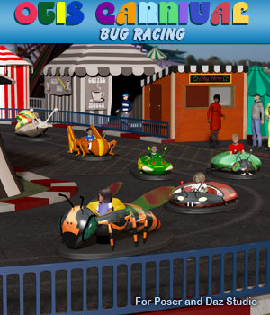Otis Bug Racing 3D Models Simon-3D