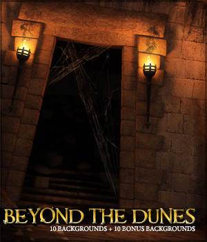 Beyond the Dunes 2D Graphics Sveva