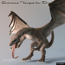 Extreme Tongue for Dragon 3 image 1