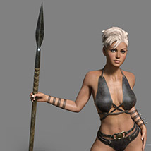 Wild Warrior for the Genesis 3 Female image 1