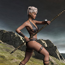 Wild Warrior for the Genesis 3 Female image 3