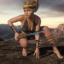 Wild Warrior for the Genesis 3 Female image 5