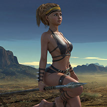 Wild Warrior for the Genesis 3 Female image 6