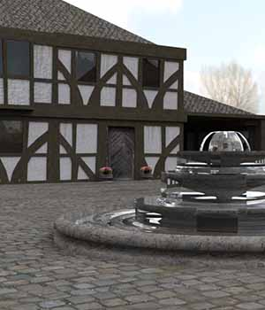 The Coach House 3D Models serum