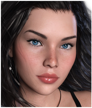 GDN Darla for Genesis 3 Female 3D Figure Essentials Godin