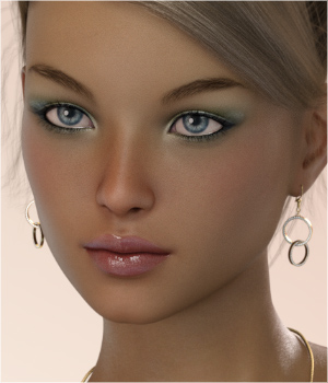 FWSA Divina for Victoria 7 and Genesis 3 3D Figure Essentials Sabby
