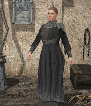 Medieval Dress C (V4) (for Poser) 3D Figure Essentials VanishingPoint