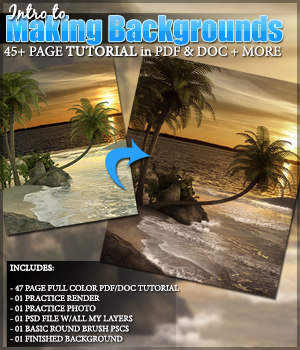 SV Intro to Making Backgrounds Tutorial Tutorials : Learn 3D Sveva