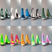 Modern Style Add On for OOT Sneakers for Genesis 3 Males image 5