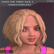 Faces for Tween Julie 7 - Shapes and Merchant Resource image 5