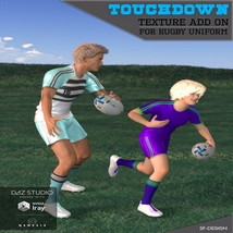 Touchdown Texture Add On for Rugby Uniform image 1