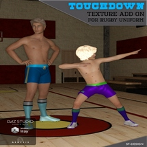 Touchdown Texture Add On for Rugby Uniform image 2