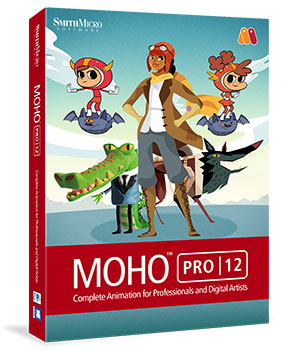 MOHO Pro 12 Poser Software : Smith Micro Smith_Micro