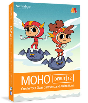 MOHO Debut 12 Software Poser Software-Smith Micro Smith_Micro