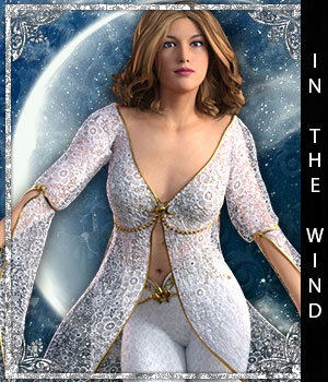 In the Wind for Artemis Moon 3D Figure Essentials sandra_bonello