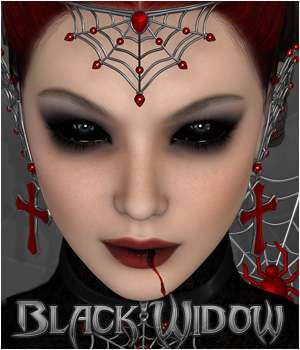 Black Widow - Jewels & more 3D Figure Essentials P3D-Art