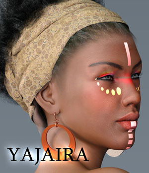 Yajaira for G3F 3D Figure Essentials Anain