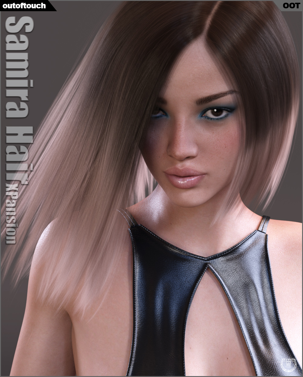 Samira Hair Iray Texture XPansion