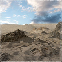 3D Scenery: Dryland Oasis - Extended License image 4