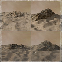 3D Scenery: Dryland Oasis - Extended License image 5
