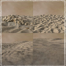 3D Scenery: Dryland Oasis - Extended License image 7