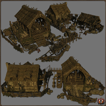 Medieval Lumbermill - Extended License image 1