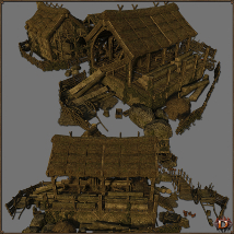 Medieval Lumbermill - Extended License image 3