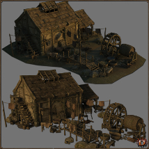 Medieval Tannery - Extended License image 1
