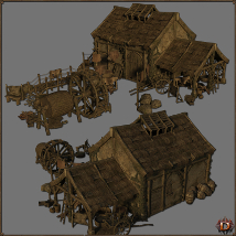Medieval Tannery - Extended License image 2