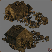 Medieval Tannery - Extended License image 3
