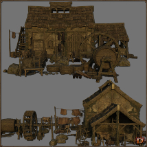Medieval Tannery - Extended License image 4