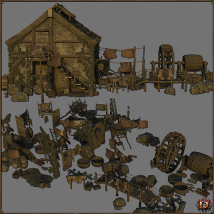 Medieval Tannery - Extended License image 5