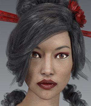 Faces for Victoria 7 Vol1 3D Figure Essentials Anagord