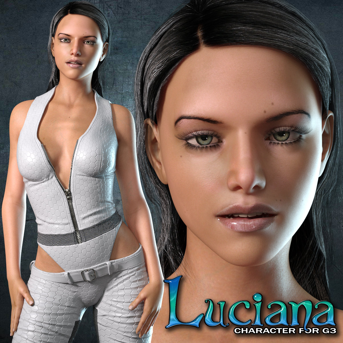 Exnem Luciana Character for G8 Female